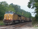 UP 7214 eastbound coal loads