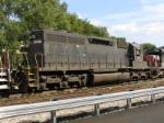 Ex-NS(N&W) High hood SD40 returns to NJ