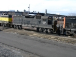 Former NS/BDLX # 1355, now # 3042 sits on the fuel track