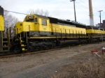 SD45(-2) 3634 is starting to get its coat of oil over its recent paint job