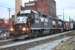 Borrowed consecutively numbered NS GP-38-2s wait for WS-5 to board and head west to Sparta