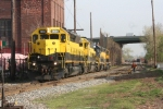 Local crew brings up the SU-99 power to ther west end of the yard and will set out the CSX unit