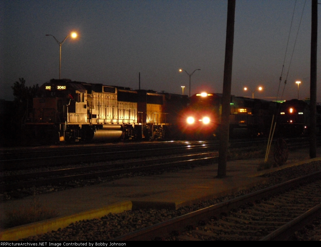 UP 2062 and UP 6576 Get Passed By Another Light Helper Set