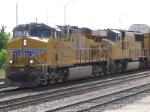UP 7437 w/ Intermodal