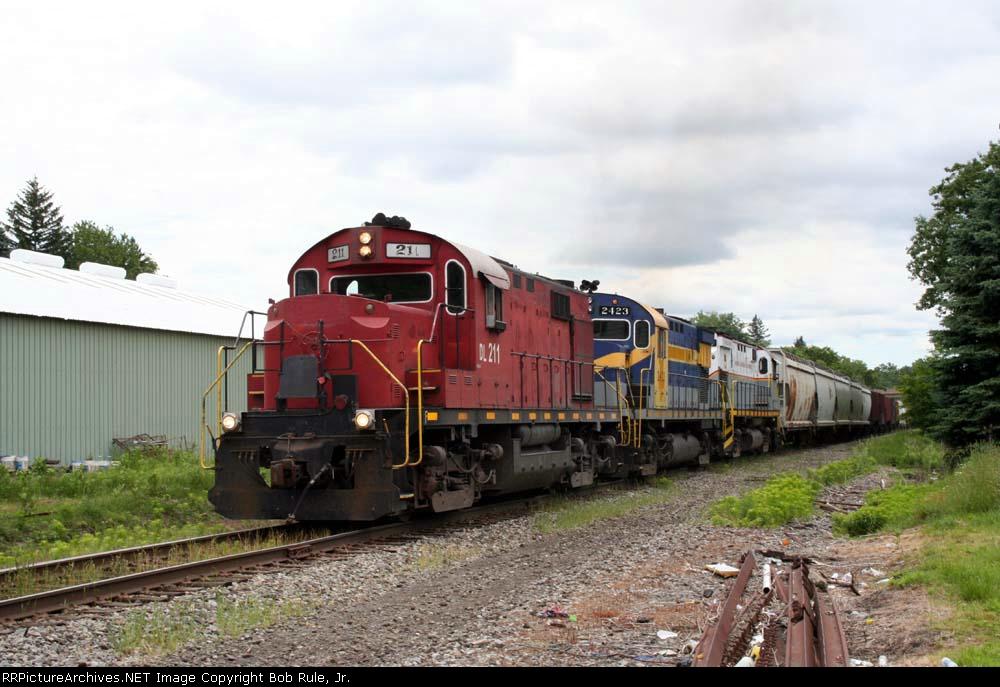 DelawareLackawanna Grain Train