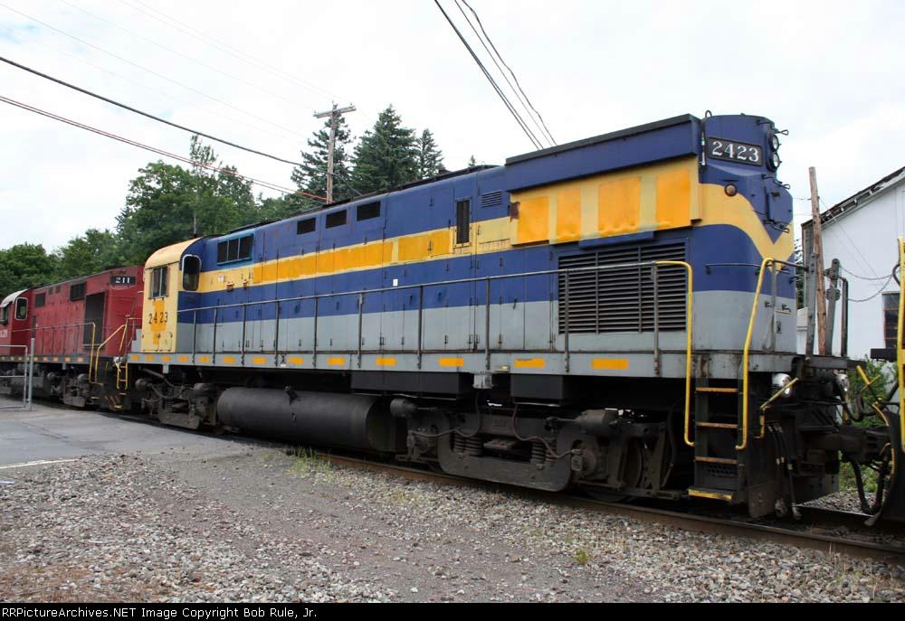 DelawareLackawanna Grain Train Power