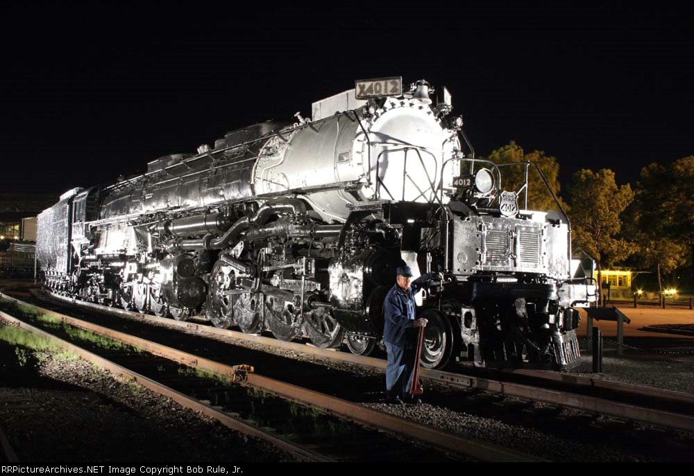 Peter Lerro Productions presents the UP Big Boy at Steamtown,  Scranton, Pa