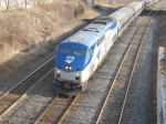 Amtrak Maple Leaf at Bayview Junction