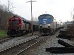 BBRR meets Amtrak 50 arriving Staunton