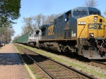 CSX K277 rolling southbound