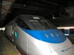 Acela AMTK 2000 on display at National Train Day, Washington, DC