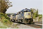 CSX train at CP Belt, Reading, PA
