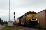 UP#1995 SD70ACe At CPH 195 Southbound on UP Palestine Sub