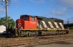 CN 5354, EMD SD40-2W, Canadian Wide-Cab sitting at the CN's ex IC Yard