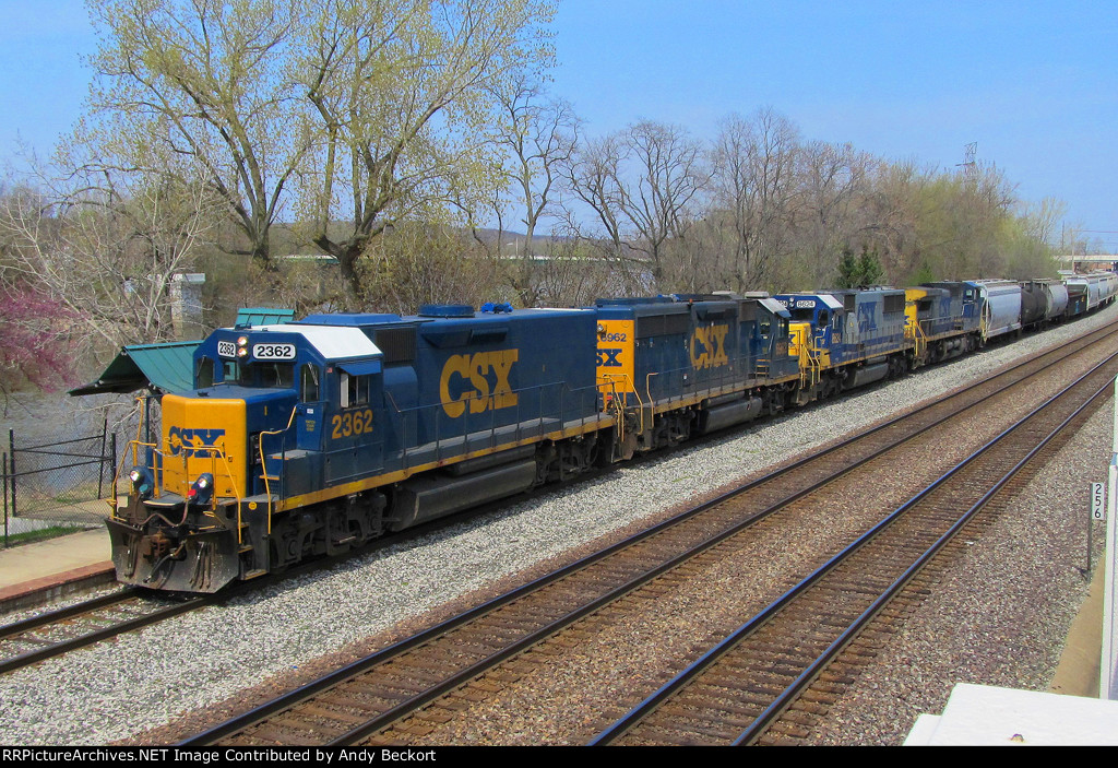 Large Consist Heads South