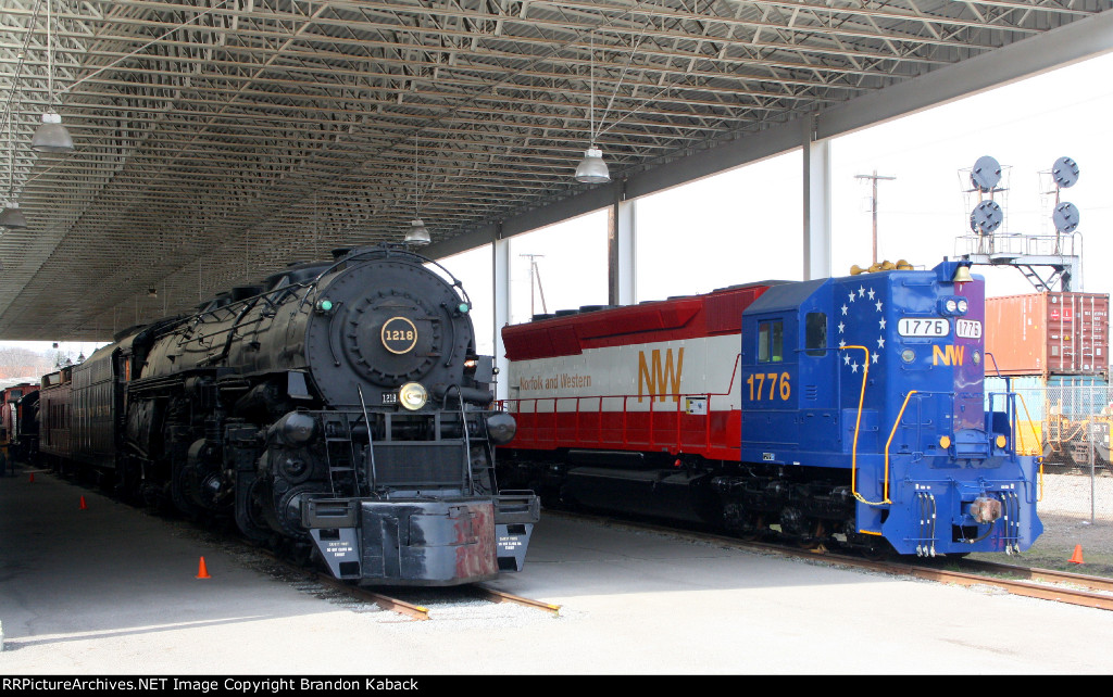 A Class and an SD45