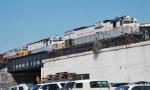 Delaware-Lackawanna Freight ready to depart Scranton