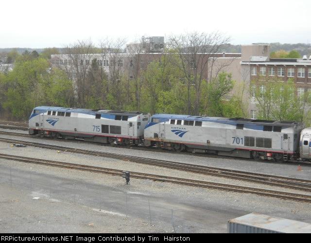 Amtrak 715 and 701