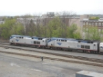 Amtrak 715 and 701