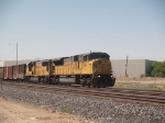 UP 8010 leads an EB manifest out of Alfalfa yard at 3:17pm