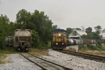 CSX 7758, 7744 and 8633