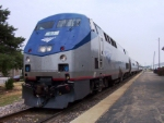 11:54 A.M.-Southbound Amtrak Ann Rutledge Train #303