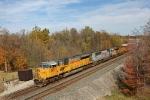 UP 8137 on CSX Q377-12