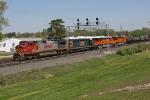 BNSF 4713 on CSX Q393-29