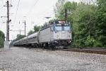 Amtrak reman AEM7 919 at Gunpow