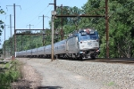 Amtrak 941 on the curve at Prince