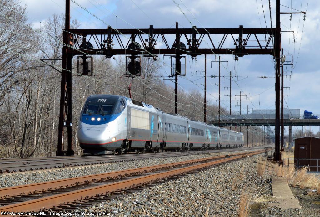 Acela train 2151(30)