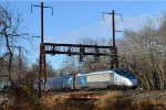 Amtrak Acela train 2158(17)