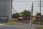 NS 852 southbound train runs on NS Indian River Secondary branch running track