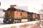 Grain train moves west