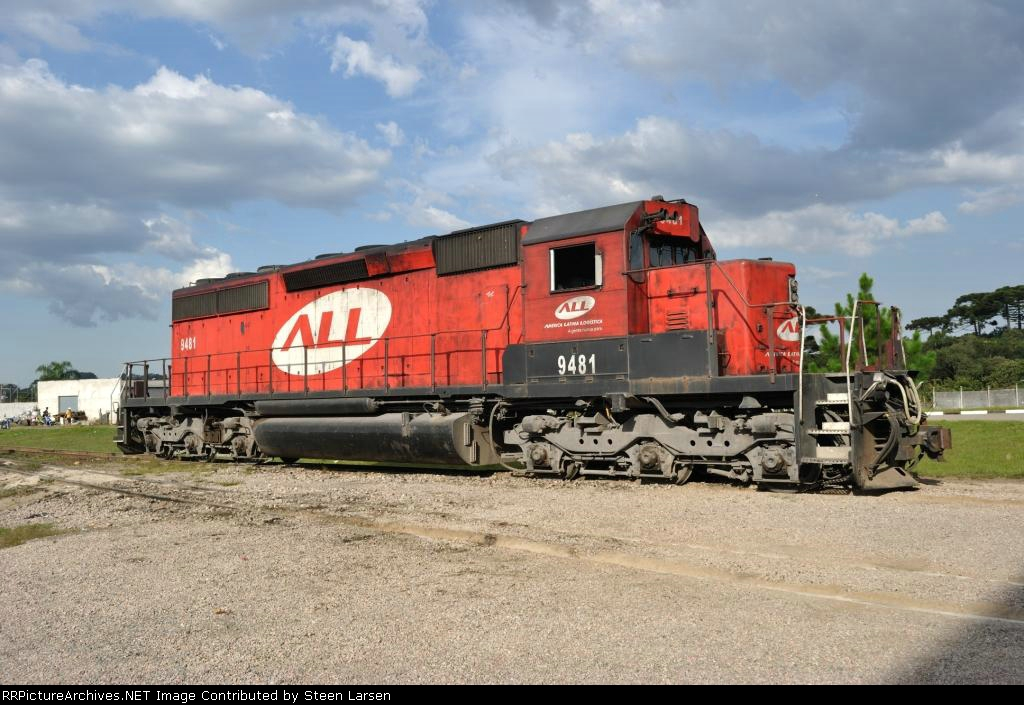 ALL 9481 (SD40-2 ex KCS 676)