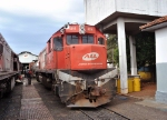 ALL 4314 (G22U EMD) in Ourinhos SP June 2010