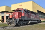 ALL 9465 (SD40R; Ex SP 8430) at the Iguacu shop in Curitiba 2010