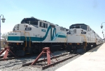 SCAX 853 and SCAX 867 at San Bernardino