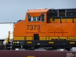 BNSF 7373 West, Cab Shot