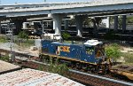 CSX 1174 Y108 heading for moncrief