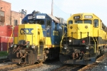 GP38-2 meets SD45-2 on the MC tracks east of Cross St