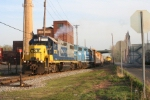 WS-5 with a CSX/NS combo departs for points west starting its night's work