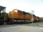 BNSf 8889 Trailing on 732