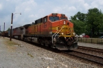 OK, Some BNSF/ATSF power shows up to break the boredom