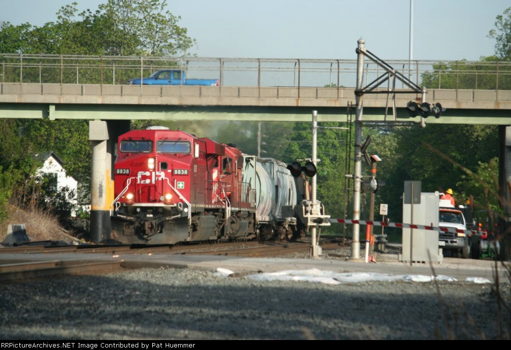 CP 8838 and the Main St cantilever