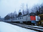 New Haven Rodger Williams RDC train