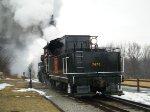 CN Steam Locomotive 7470