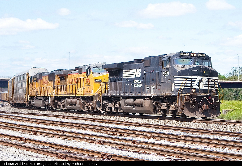 NS 212 with 2 trailing UP units