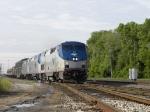 Amtrak heads north