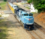 UP 1982 heads North on the De Soto sub